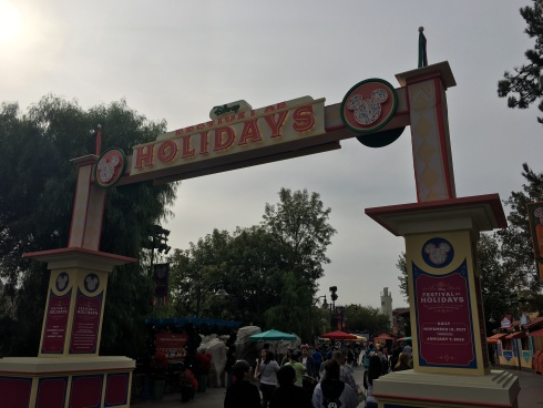 Entrance to the Festival of Holidays