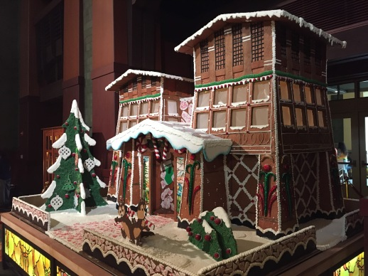 Grand Californian Ginger Bread House