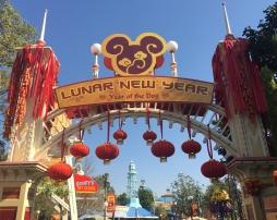 Lunar New Year Entrance