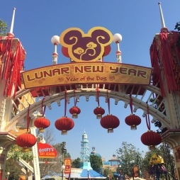 Lunar New Year Entrance