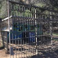 Old Zoo animal enclosure