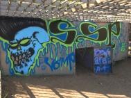 Interior of the enclosure