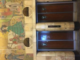 Elevators & Mural
