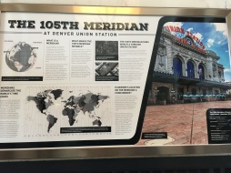 105th Meridian Sign