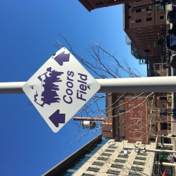 Coors Field Sign