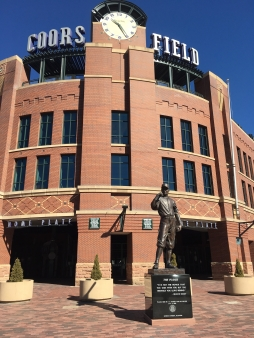 Coors Field Main Entrance