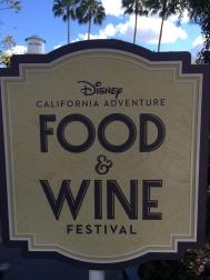 Food & Wine Sign