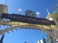 Beer Garden Entrance