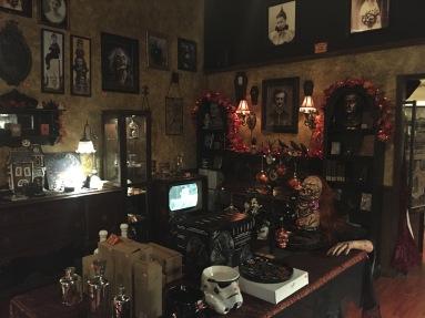 More Haunted Mansion Interior